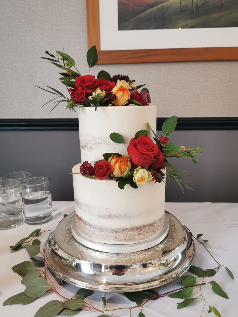 Natural Rose Double Tier