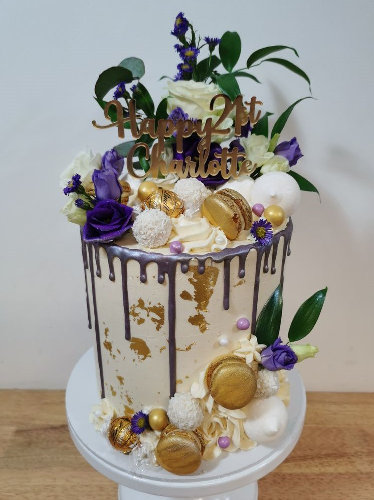 Violet and Gold