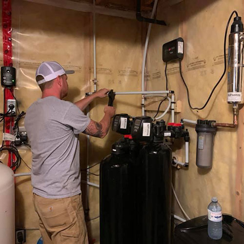 water treatment in a belleville home