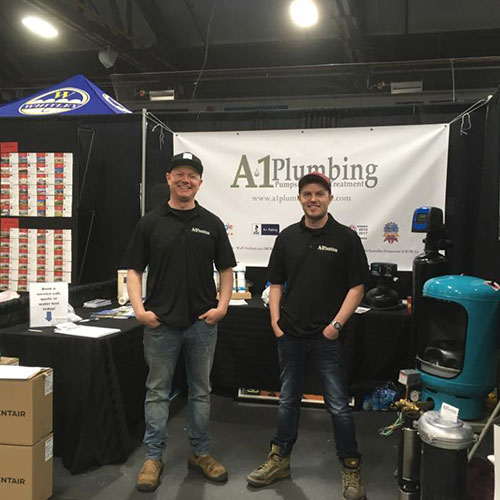 a1 plumbing booth