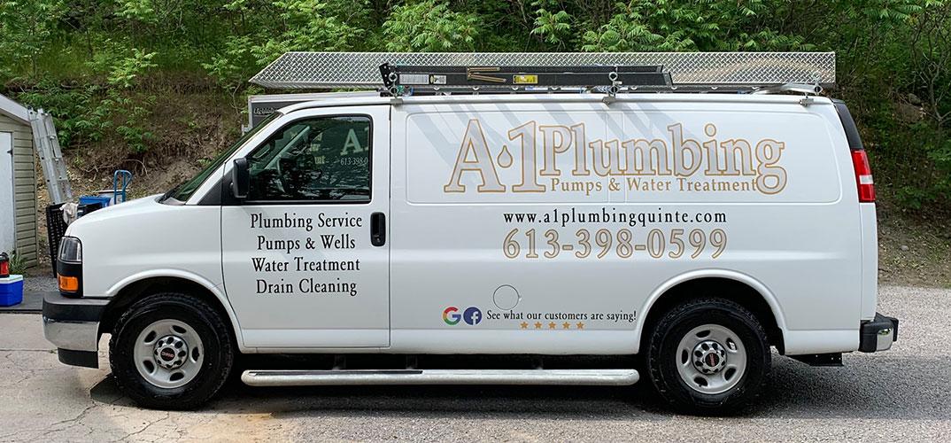 a1 plumbing van