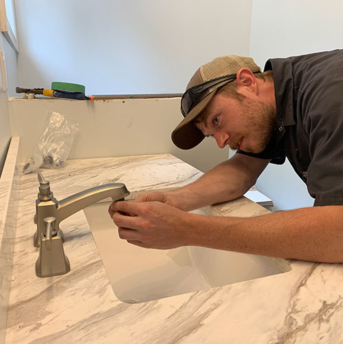 faucet installation in quinte west home