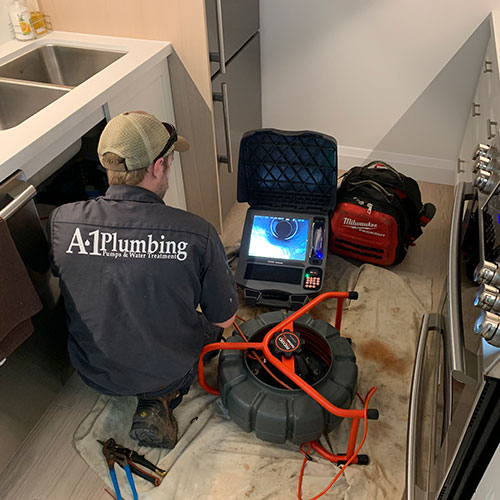 drain cleaning and sewer inspection