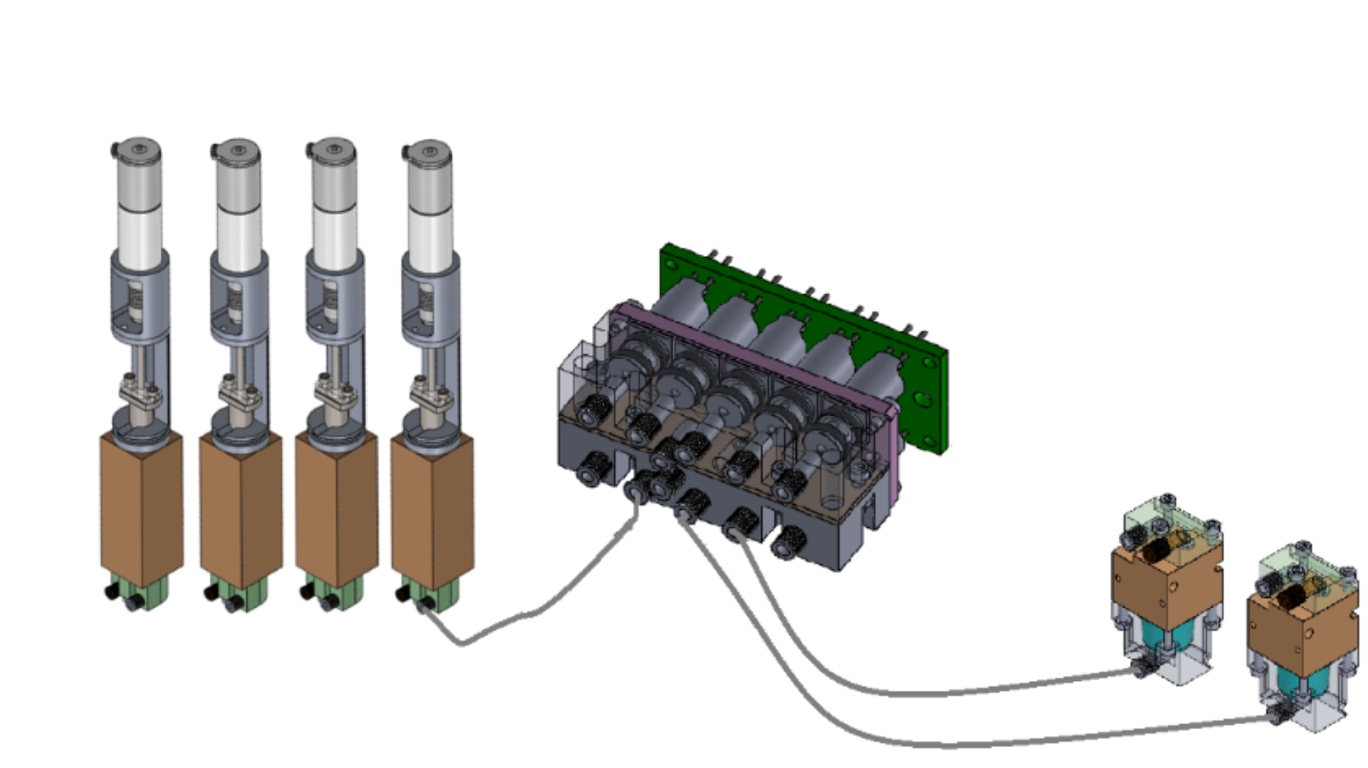 SpacePharma's Fluid management system