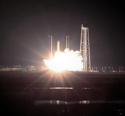 NEXUS2 launch to the ISS onboard of the NG10 resupply mission