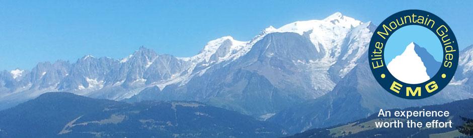 Climb Mont Blanc with Elite Mountain Guides