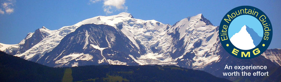 Mont Blanc in summer