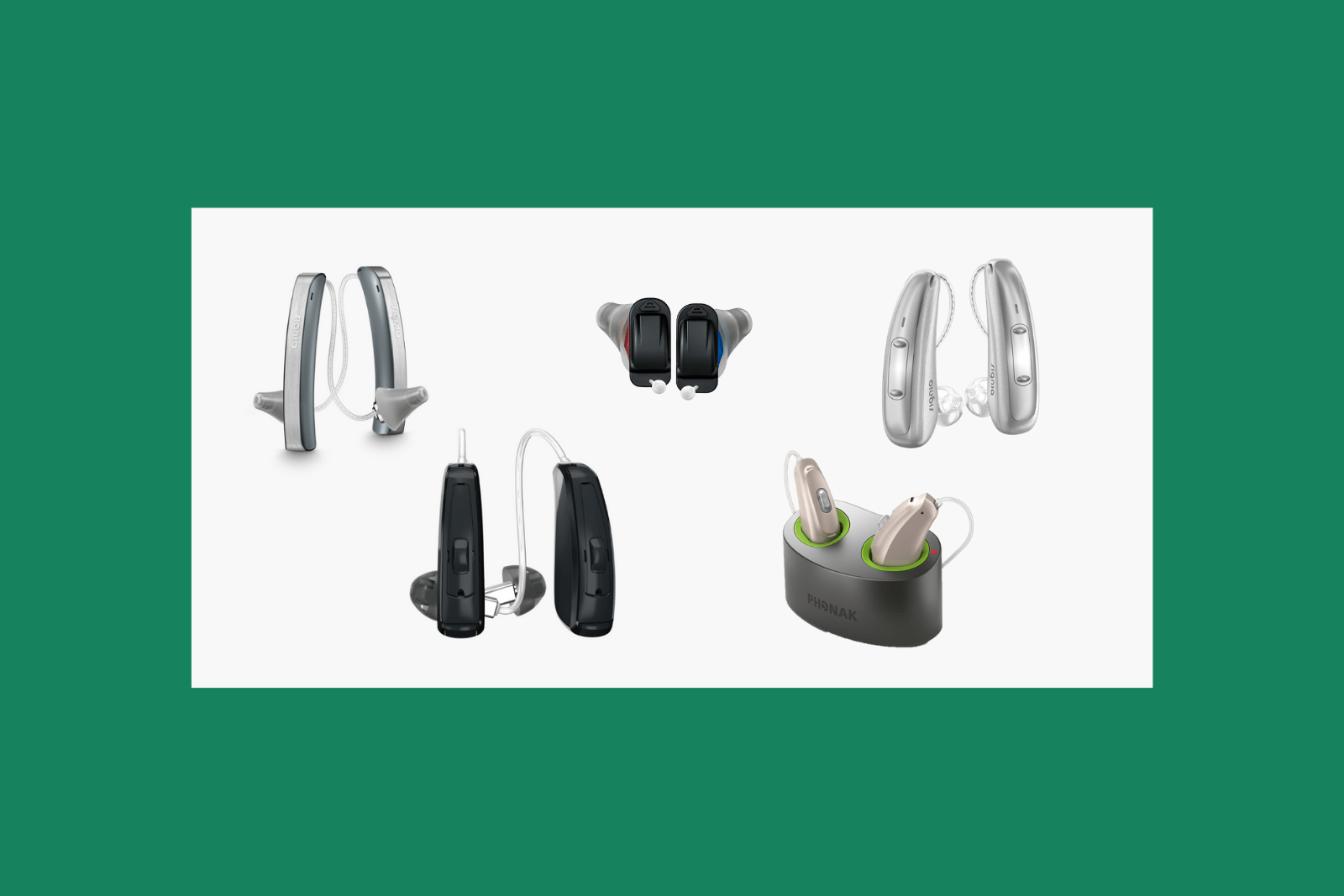Features of modern hearing aids