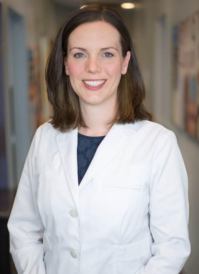 Dr. Messenger at her practice