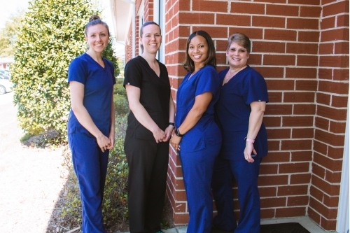 Dr. Messanger with her team