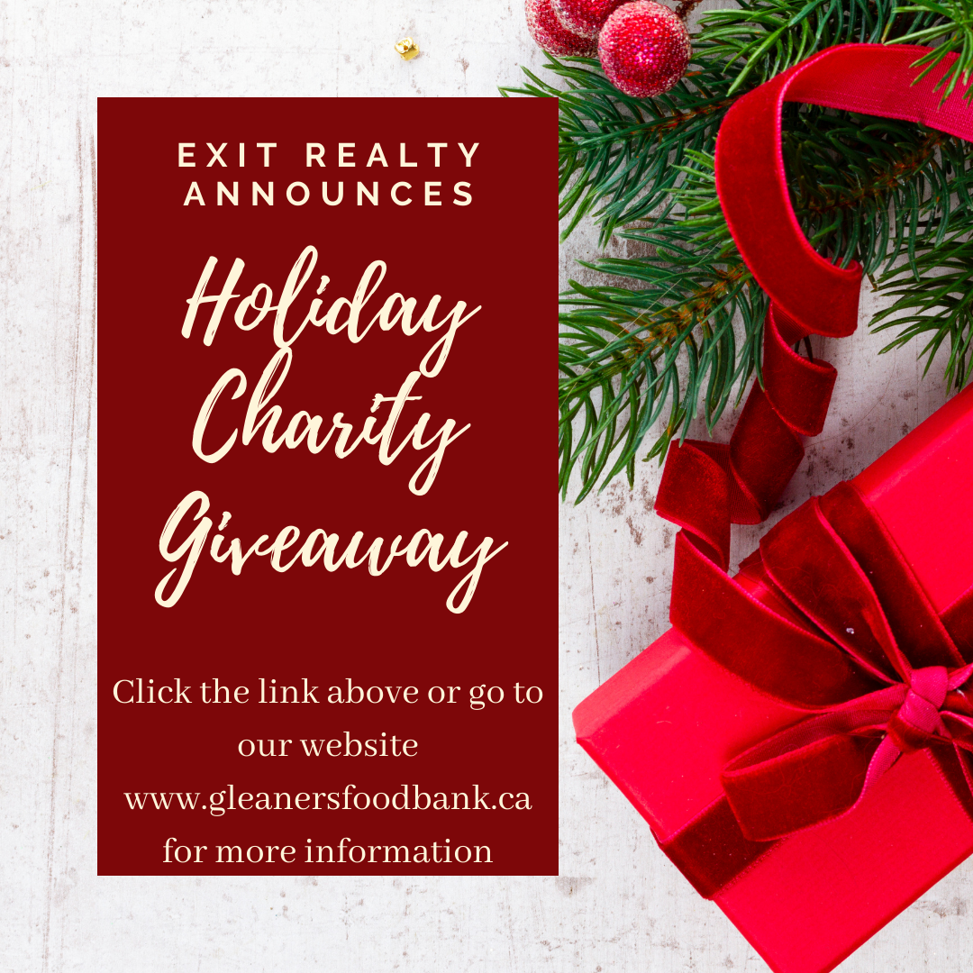EXIT Realty announces a Holiday Charity Giveaway!