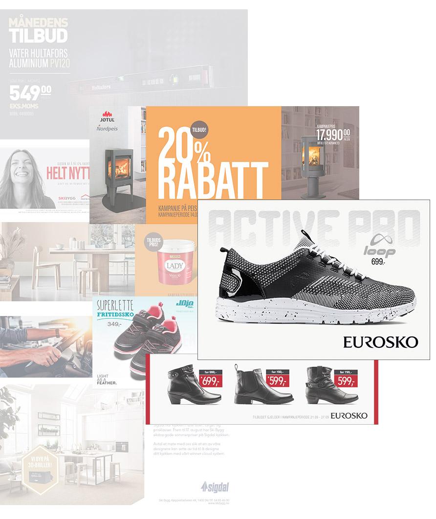 Digital annonser designet av Sanzero Designbyrå