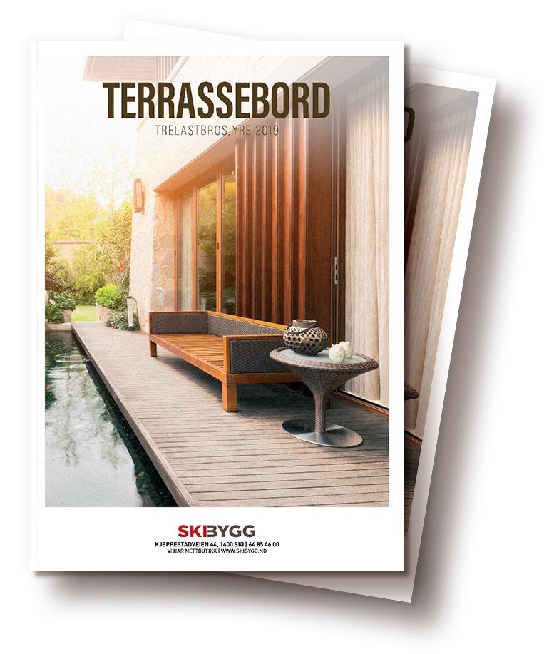 Brosjyre designet av Sanzero Designbyrå