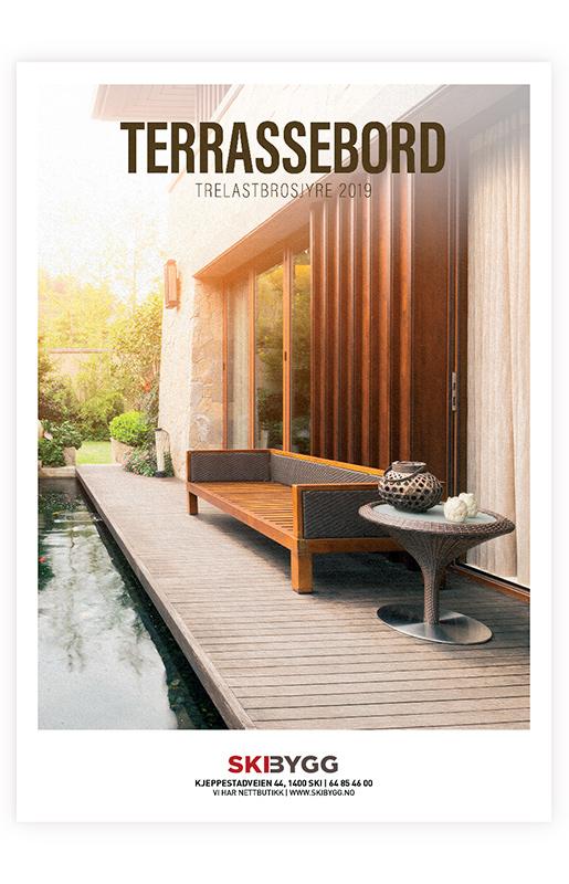 Brosjyre design av Sanzero Designbyrå