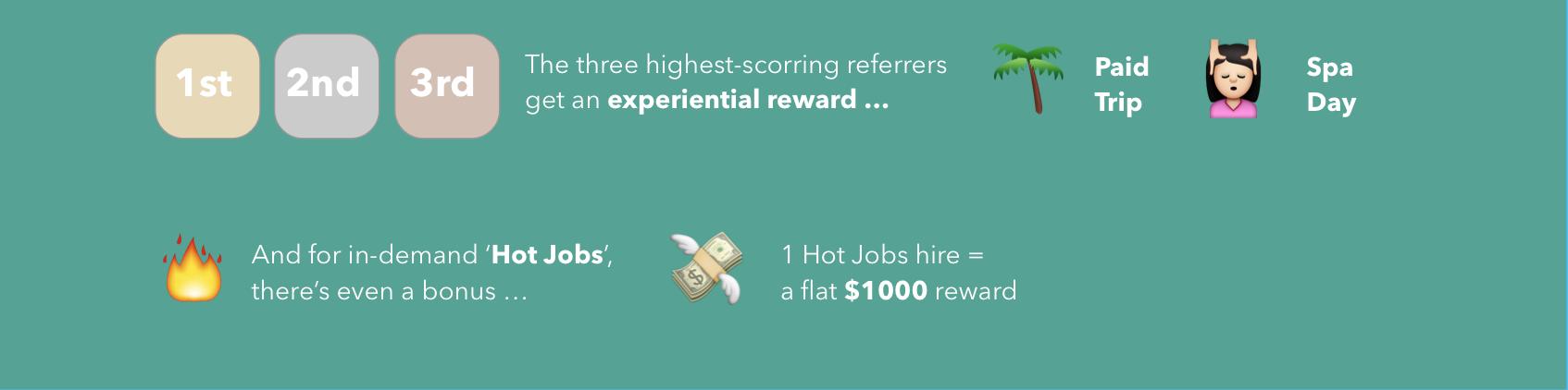 Sendgrid referral reward paid vacation