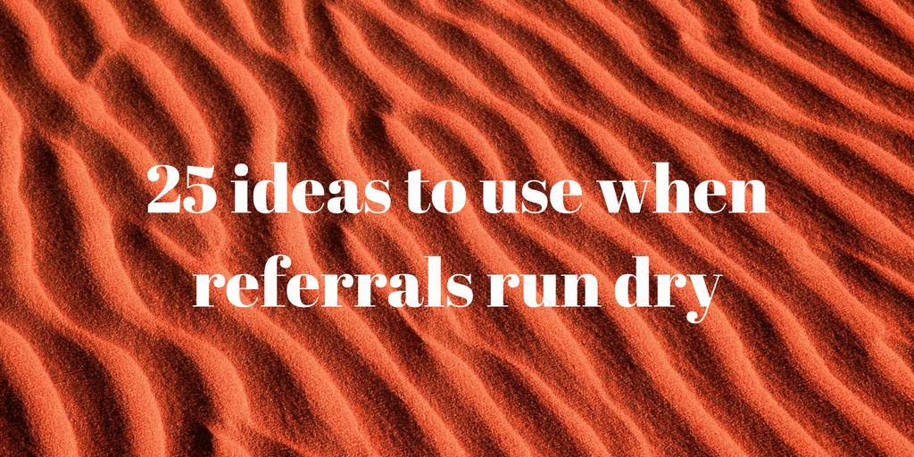 25 ideas when employee referrals run dry