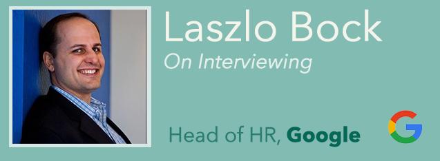 Laszlo Bock title card