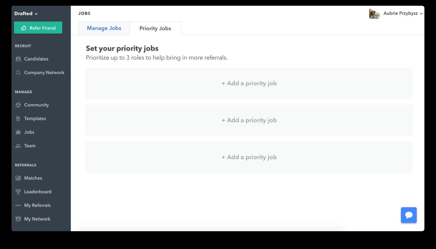 Priority Jobs