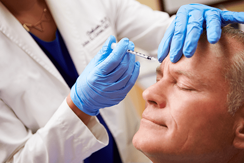 Men and Women can benefit from our Injectibles and Dermal Fillers at Renew Facial Plastic Surgery
