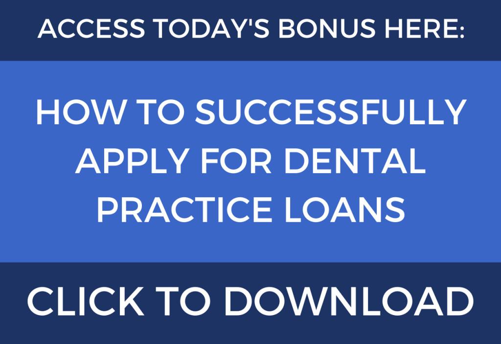 dental practice loans
