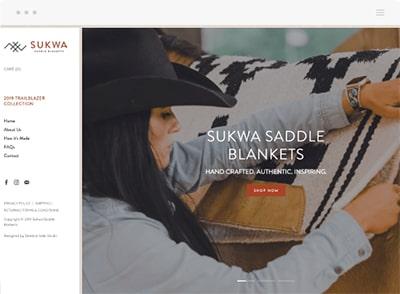 Sukwa Saddle Blankets