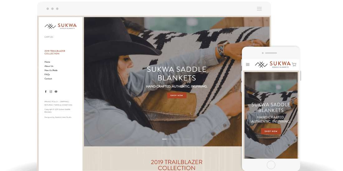 Sukwa Saddle Blankets