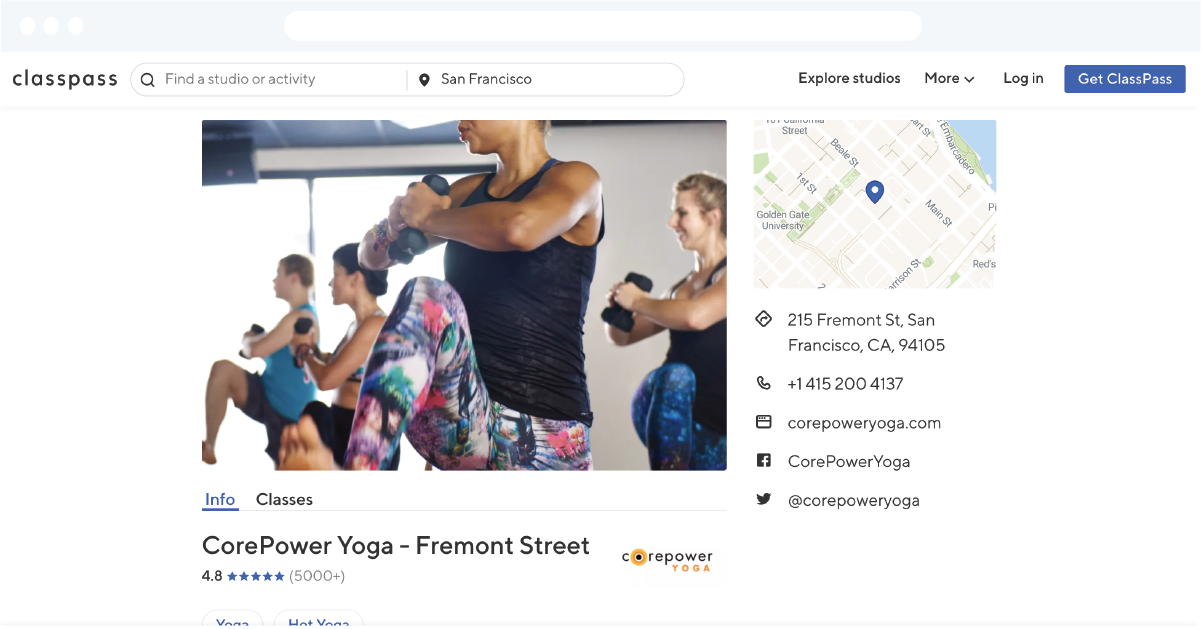 Not known Incorrect Statements About Classpass Locations