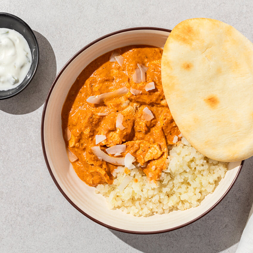 Butter Chicken with 