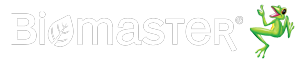 Biomaster logo with frog