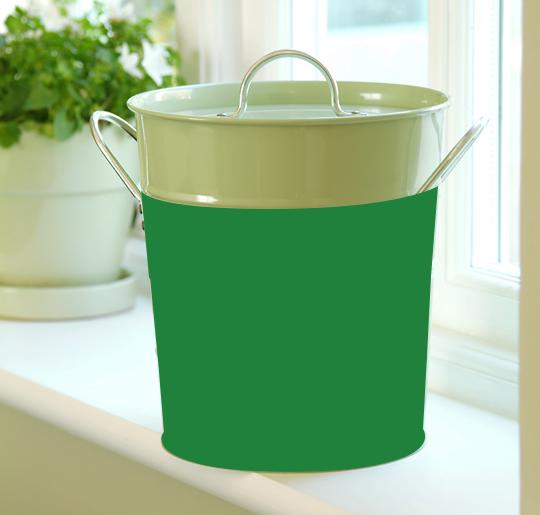compost bin full