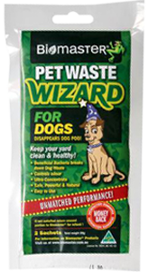 Pet waste wizard product - Make pet waste disappear