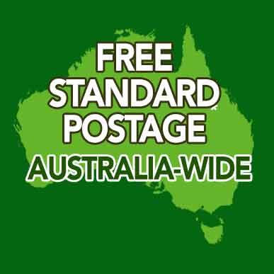 Free Standard Postage Australia Wide