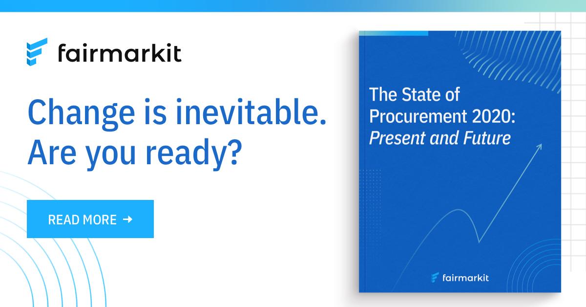 The State of Procurement 2020: Present and Future eBook