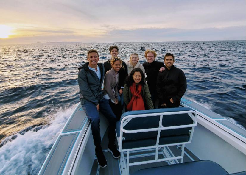The AirGarage team in Newport Beach, CA.