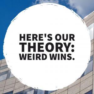 why weird wins online