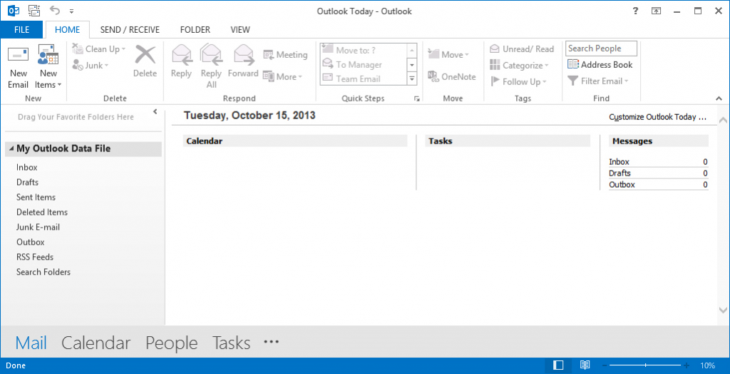 Thiết lập Outlook cho gmail 1