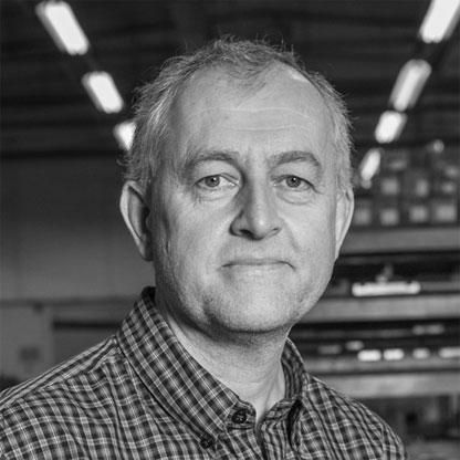 Nigel Jognson New Product Launch % Assembley Coordinator of Sweetnam & Bradley