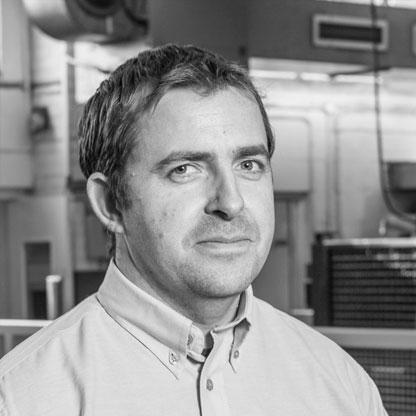 Andrew Boulton, Engineering Manager of Sweetnam & Bradley