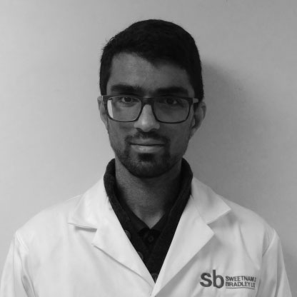 Amraj Aulak, Quality Assurance Engineer at Sweetnam & Bradley