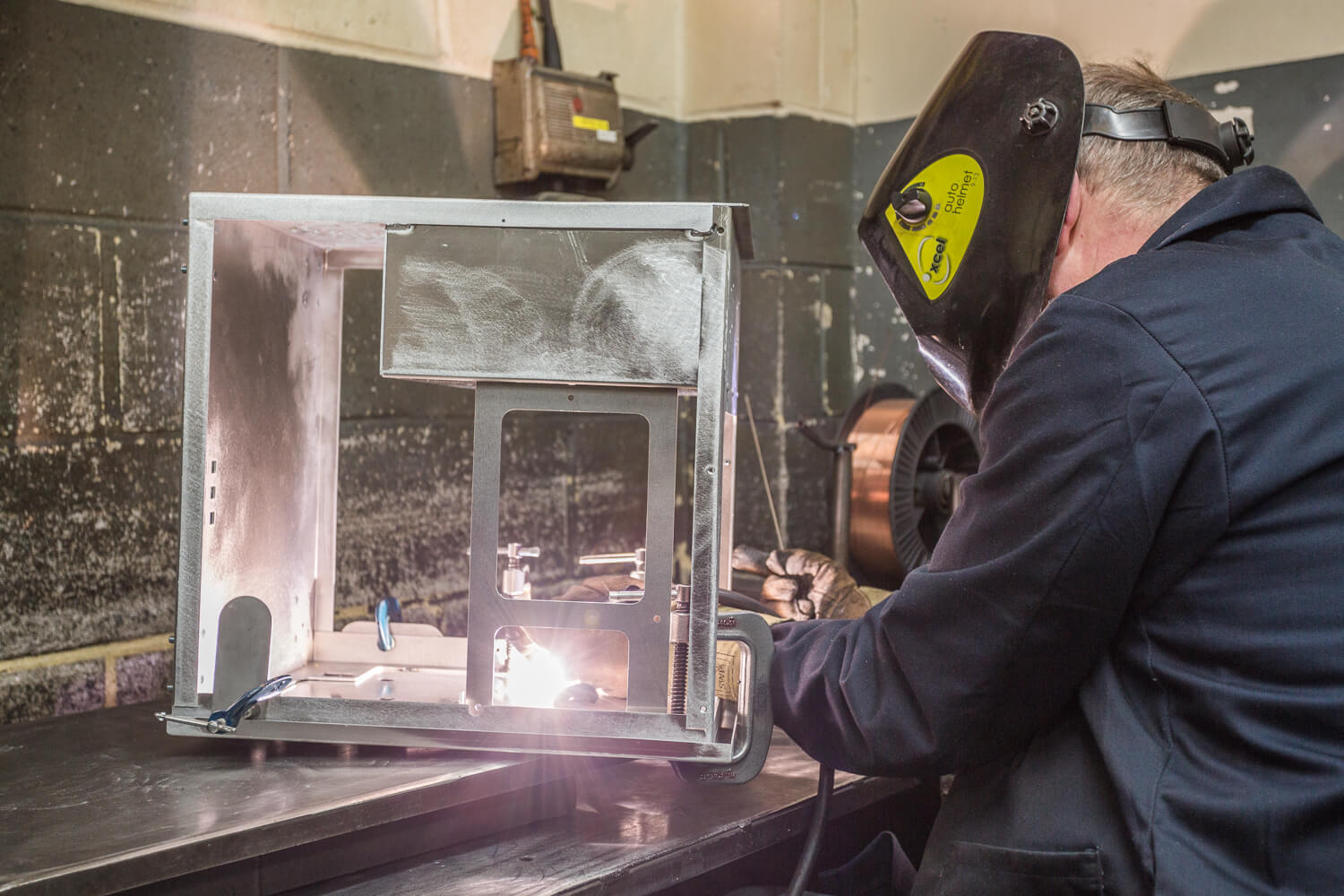 Welding from Sweetnam & Bradley Sheet Metalwork Specialist