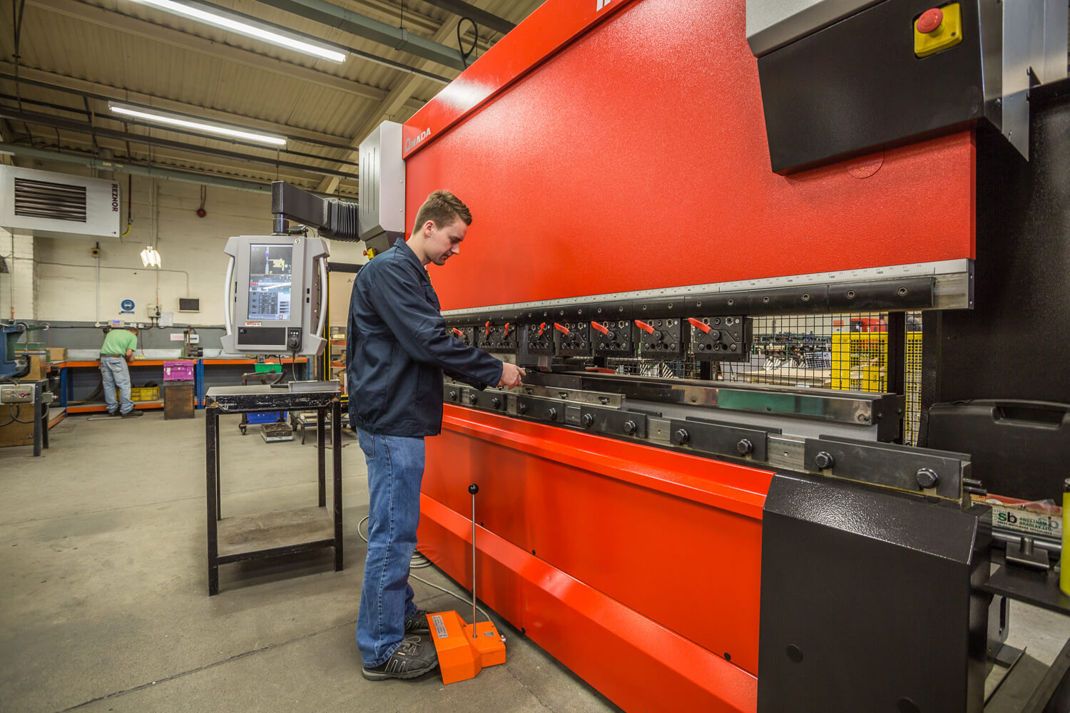 CNC Bending from Sweetnam & Bradley Sheet Metalwork Specialist