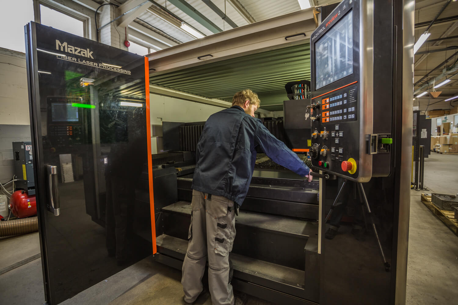 Fibre Laser Cutting from Sweetnam & Bradley Sheet Metalwork Specialist