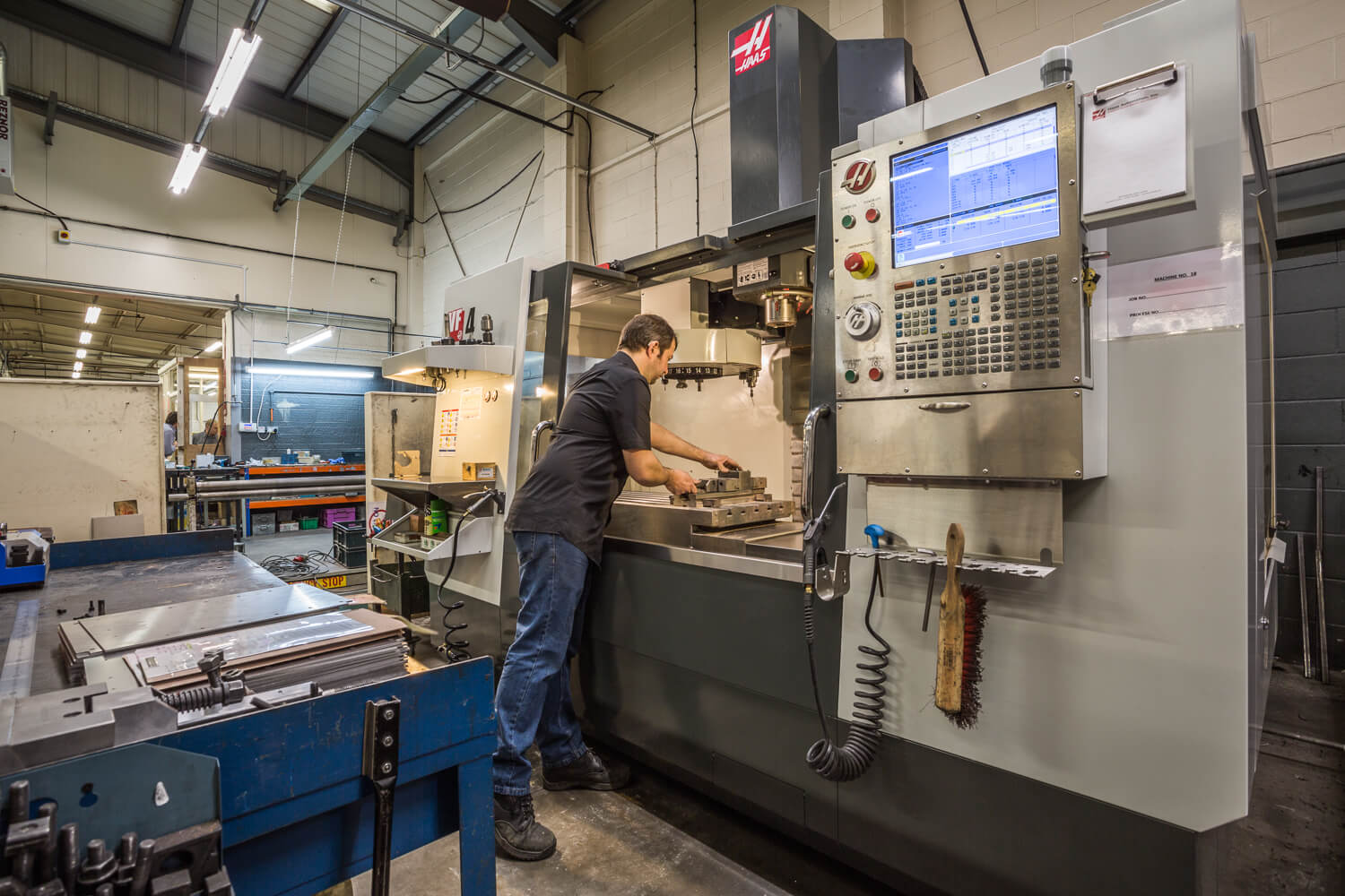 CNC Machining by Sweetnam & Bradley