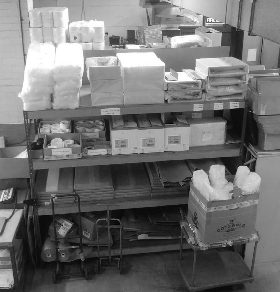 Matt Spall, Stores Supervisor at Sweetnam & Bradley