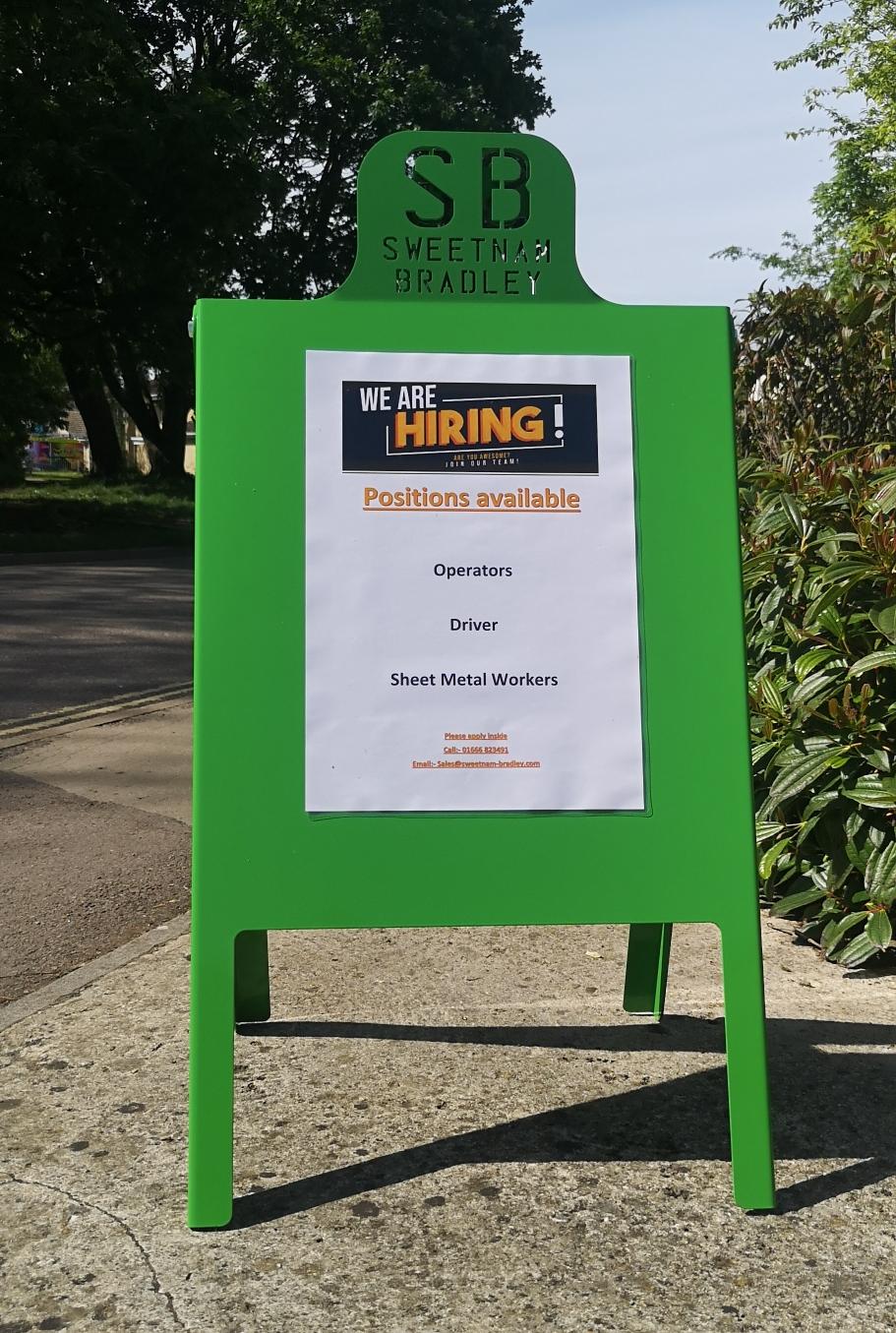 sweetnam & bradley are hiring