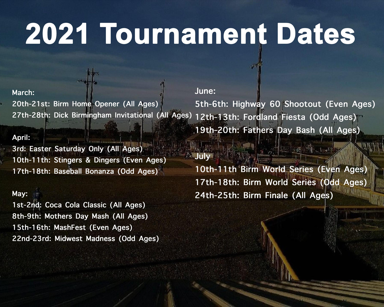 The Birm Tournaments