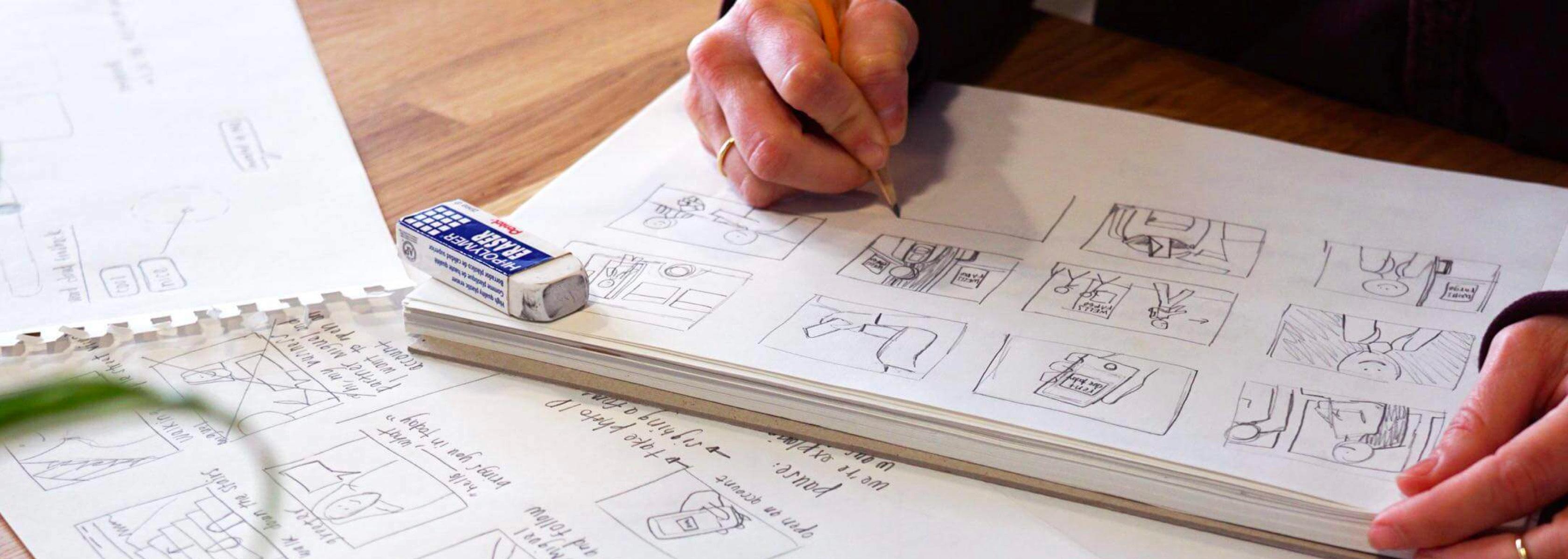 Wells Fargo Labs Concept Sketching