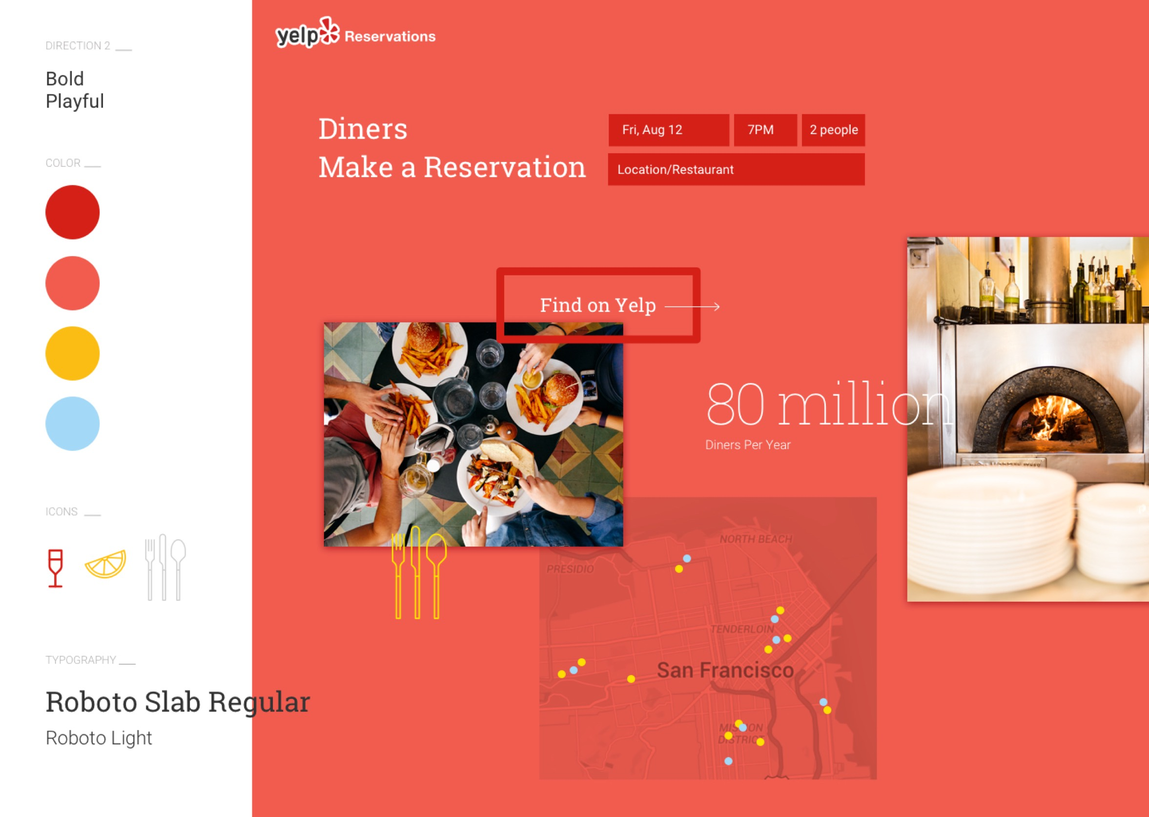 Yelp Style tile concept 02