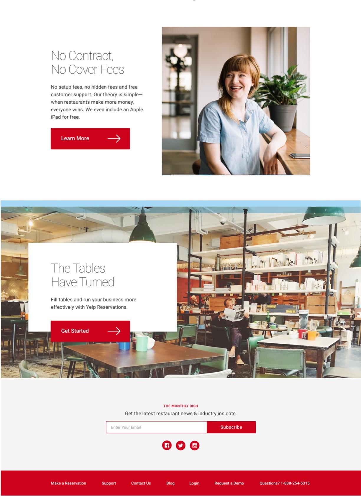 Yelp Visual Design One