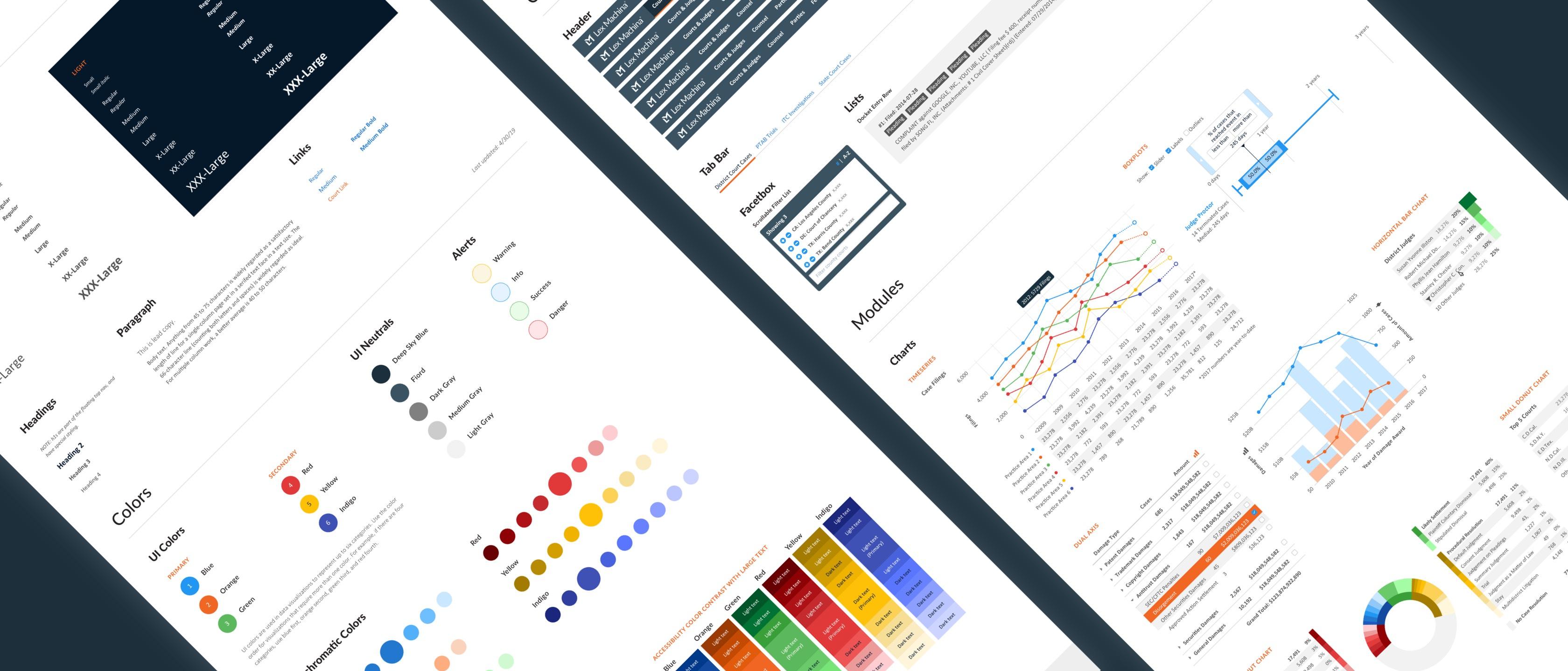 Lex Machina Visual System